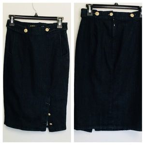 7 For All Mankind Skirts - Denim Pencil Skirt from For 7 All ManKind